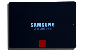 Samsung 850 Pro SSD fRONT