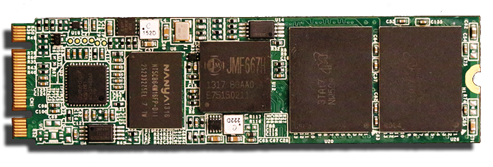 Super-Talent-DX-1PCIe-M.2-NGFF-SSD-Front-PCB