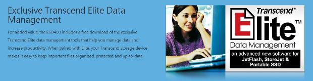 Transcend Elite data management