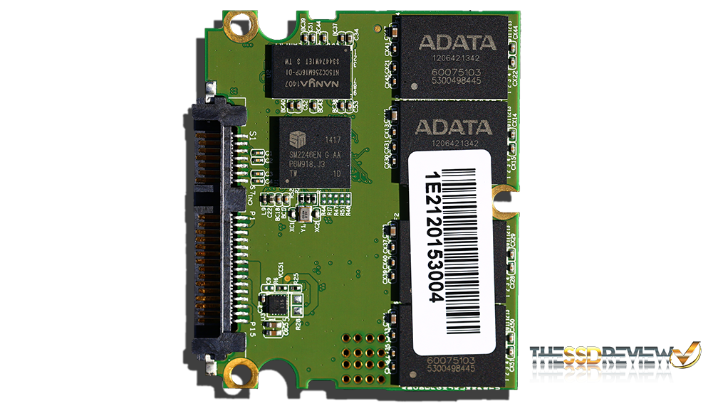 ADATA SP610 SSD PCB Front 1