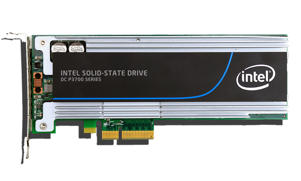 Intel P3700 NVMe 800GB SSD Top