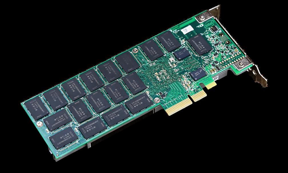 Intel P3700 PCB Back