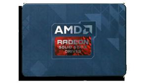 AMD Radeon 256GB SSD Front