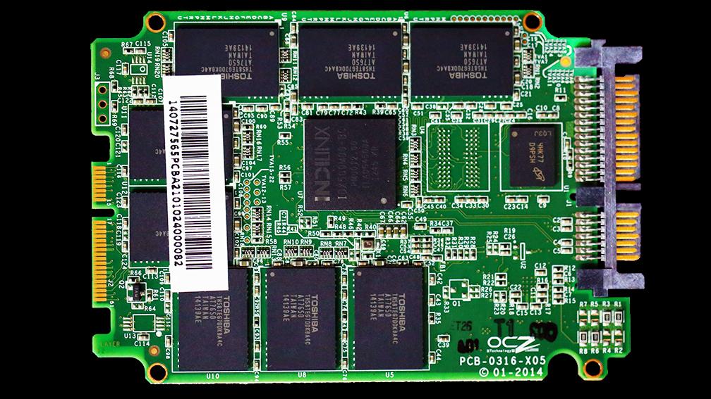 AMD Radeon 256GB SSD PCB Front