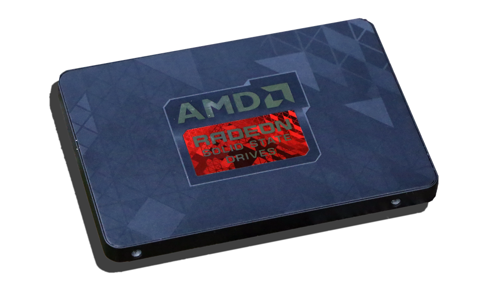 AMD Radeon R7 256GB SSD Angled