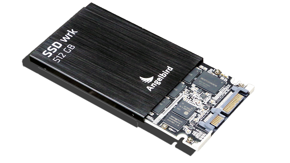 Angelbird SSD2Go 521GB SSD Open