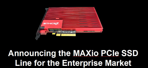 Bitmicro maxio pcie ssd drives reach