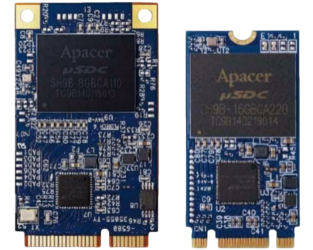 Apacer New PCIe SSDs