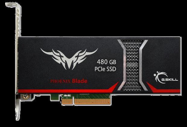GSkill Phoenix Blade 480GB front view