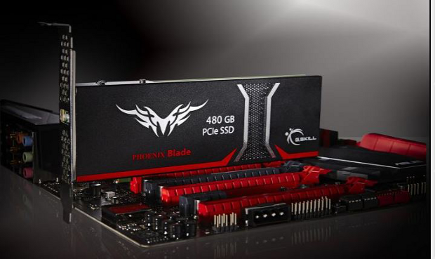GSkill Phoenix Blade 480GB with motherboard