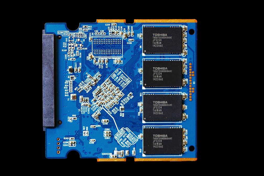 Corsair Neutron XT 240GB SSD PCB Back
