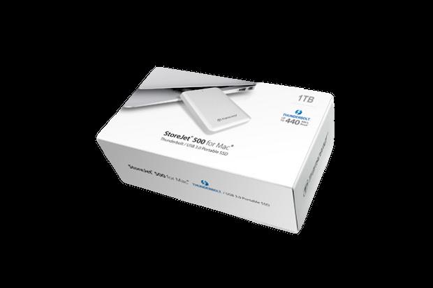 Transcend SJM500 package