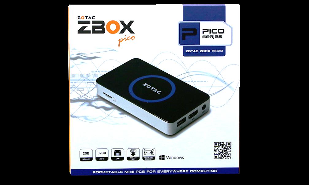 Zotac ZBox Pico External Package Wt