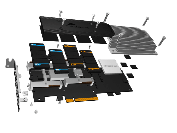 memblaze exploded view