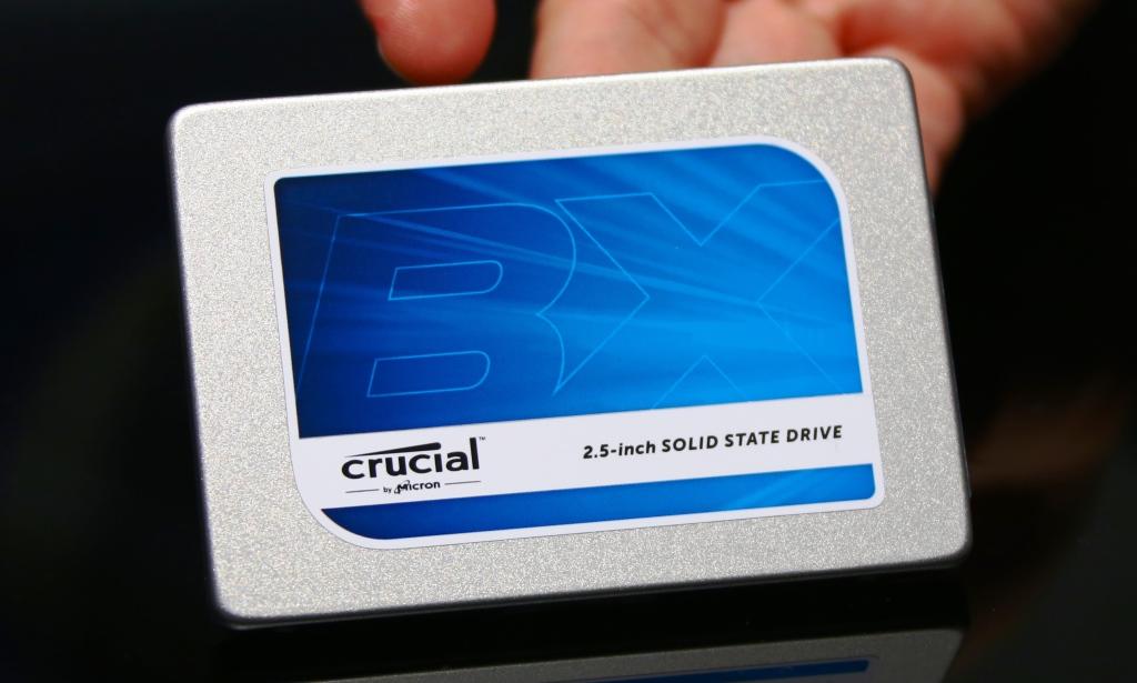 Crucial BX100 500gb SSD