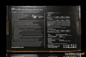 Plextor M6e Black Edition 256GB box back