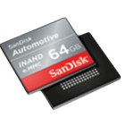 SanDisk automotive iNAND feature