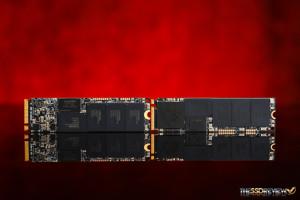 Kingston HyperX Predator M.2 PCIe SSD RAID 0 BCB Front Back