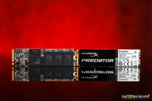 Kingston HyperX Predator M.2 PCIe SSD RAID 0 Front Back