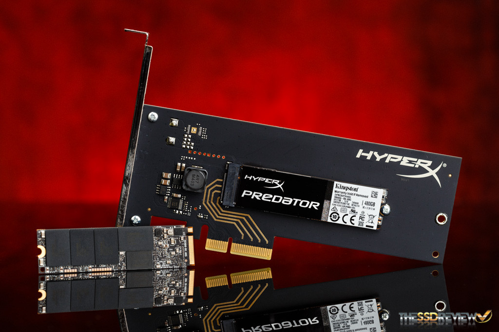 Kingston HyperX Predator M.2 PCIe SSD RAID 0 M.2 + HHHL