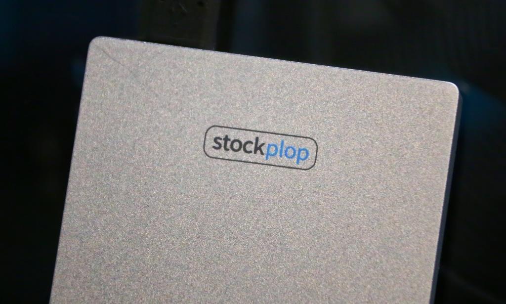 Stockplop SSD Enclosure Logo