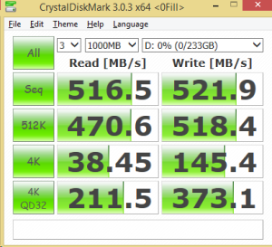 250GB Eluktro Pro Performance CDM 0FILL