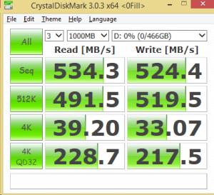 500GB Eluktro Pro Performance CDM 0FILL