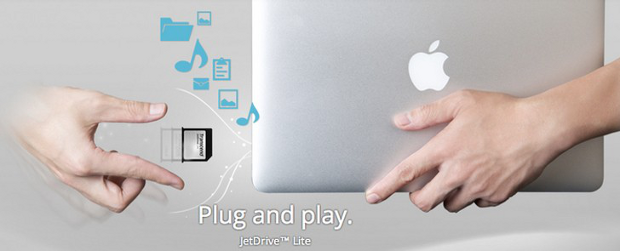 TRANSCEND jetdrivelite 256GB plug and play