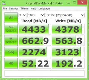SM951 512GB RAID0 Crystal DiskMark Last