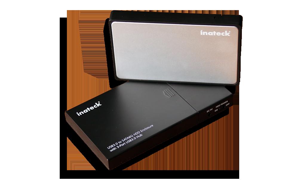 Inateck FE2005 and FE2007 External USP 3.0 UASP Enclosures