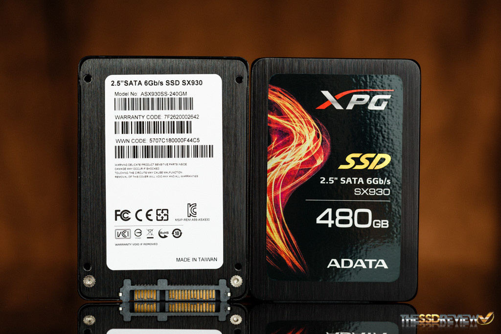 Adata XPG SX930 Front and Back