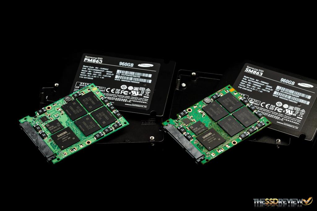 Samsung SM863 & PM863 960GB Open