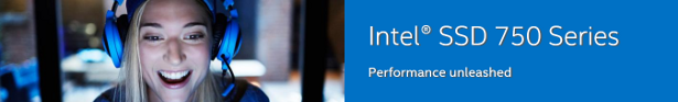 Intel 750 series banner