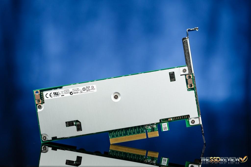 Intel SSD DC P3608 1.6TB Back