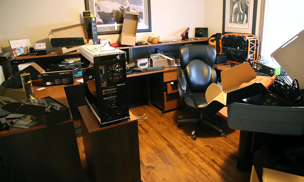 Messy TSSDR Office