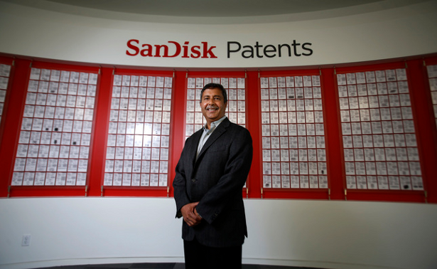 SanDisk patents with Sanjay Mehrotra