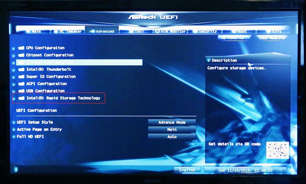 ASRock Z170 Extreme7+ RAID setup problem: PC Talk Forum: Digital