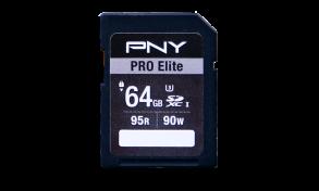 PNY Pro Elite SDXC 64GB SDXC Card