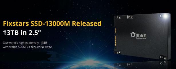 Fixstars SSD13000M banner