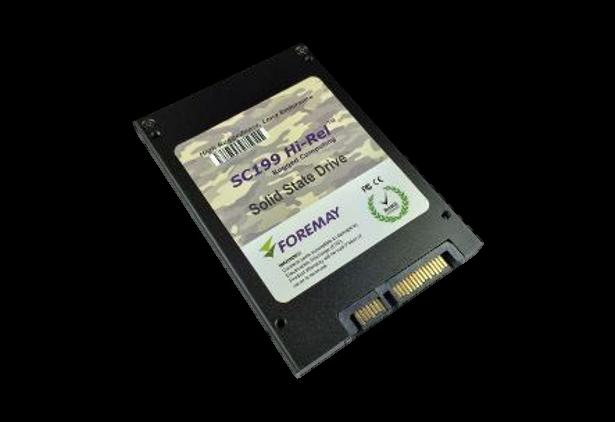 Foremay Self-Encrytping SSD angled 2