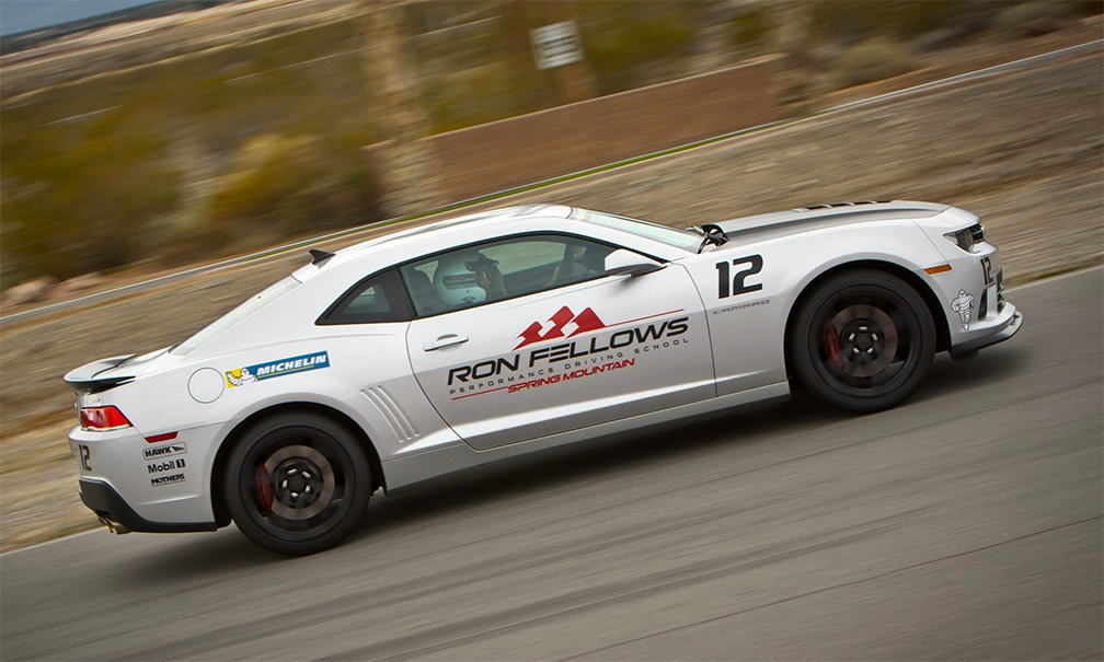 Ron Fellows Instructor Car