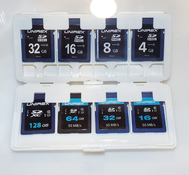 Unirex SD cards
