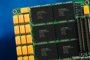 HGST SN100 SSD Capacitors and NAND