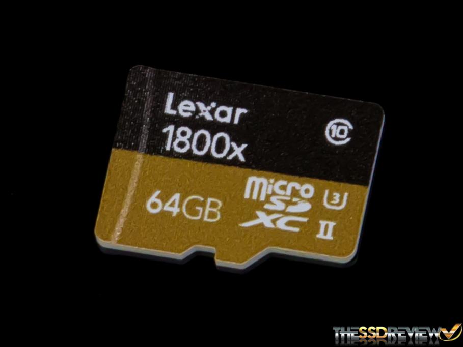 Lexar Professional 1800x microSDXC UHS-II (64GB) Review ...