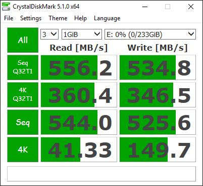 Samsung 750 EVO 250GB Tests 5