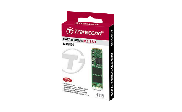 Transcend MTS800 1TB retail package