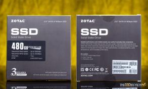 Zotac Premium Edition SSD 480GB Packaging