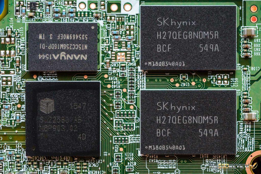 Intel 540s 480GB Controller NAND DRAM