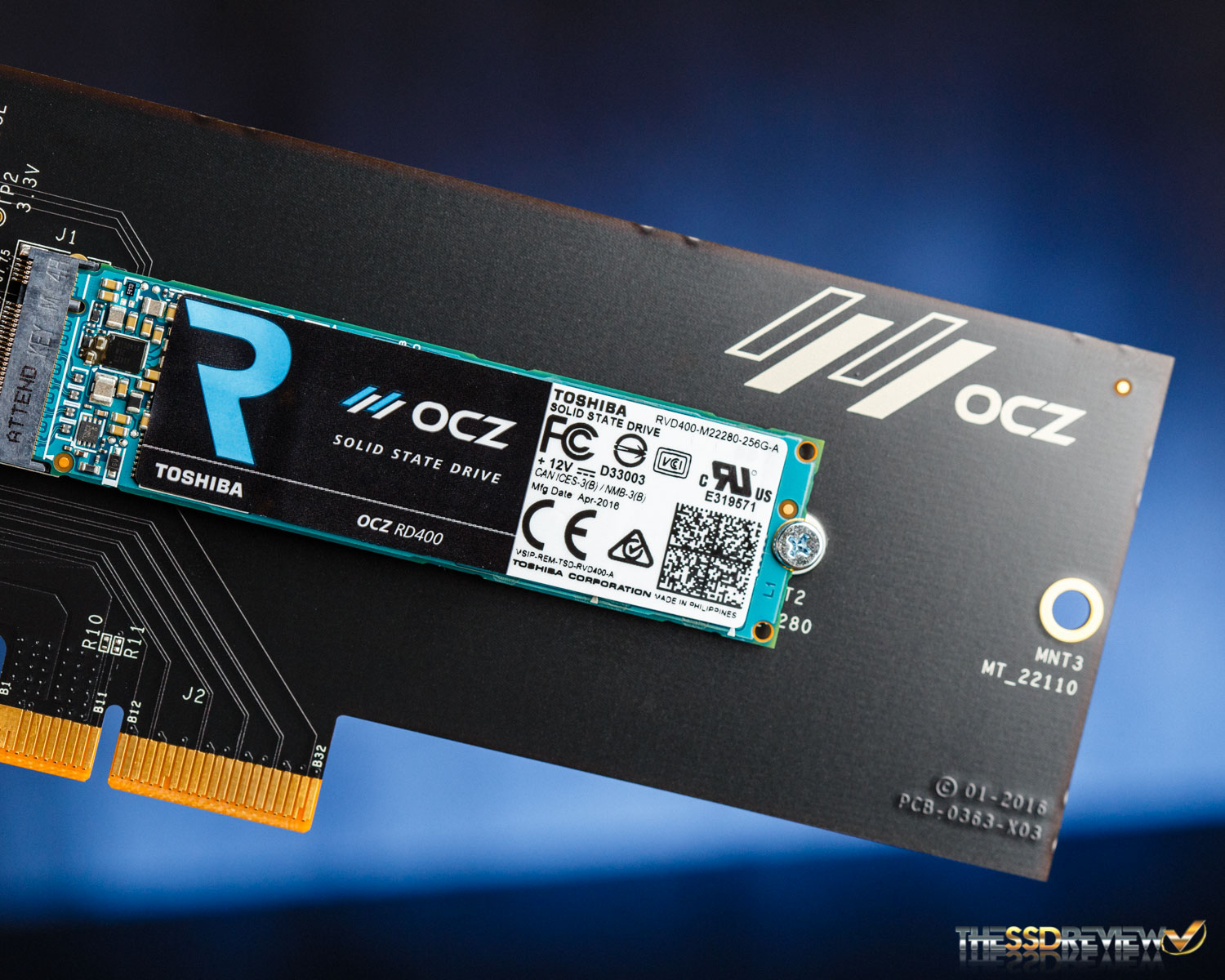 Ocz rd400 nvme ssd review 256gb512gb1tb the ssd review falaconquin