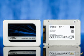 Crucial MX300 750GB Limted Edition Front and Back